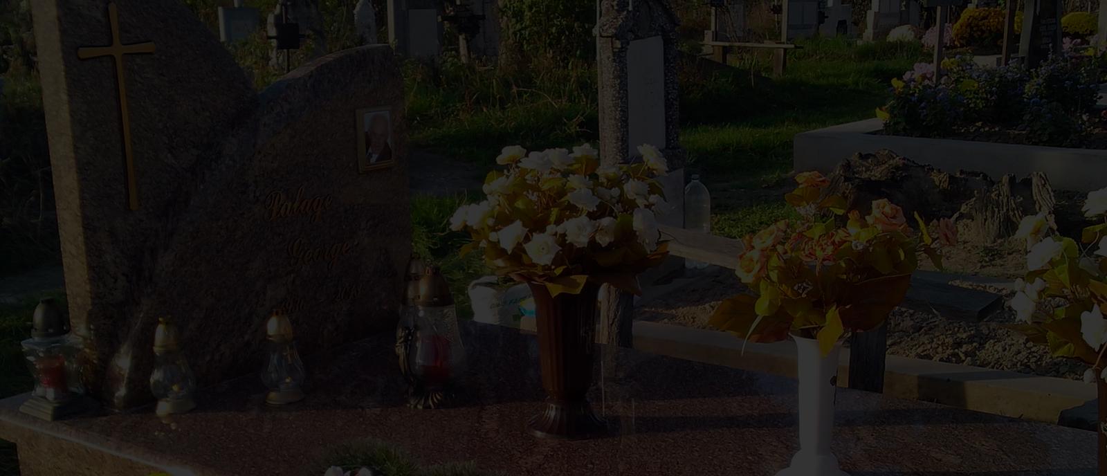 Realizare morminte din marmura